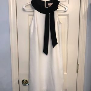 New Ted Baker White Dress neck tie tunic